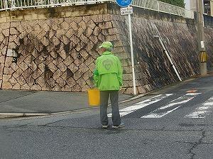 通学路清掃リポート ~裏門から登校~