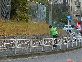 通学路清掃リポート ~正しいあいさつ~