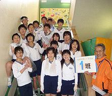 落合小学校卒業記念トイレ磨き