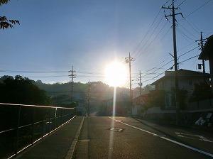 通学路清掃リポート ~先に「おはようございます」~