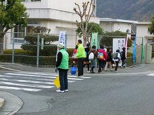 通学路清掃リポート ~寒さを吹き飛ばす~
