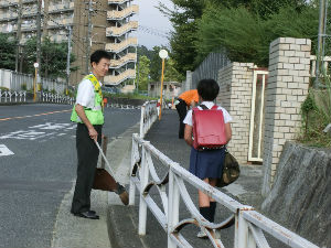 通学路清掃リポート ~登校時間が早くなった~