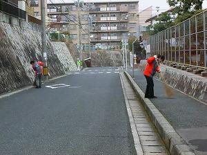通学路清掃リポート ~隅から隅まで~