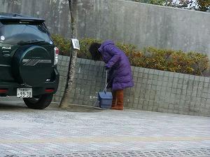 通学路清掃リポート ~先生が総出で~