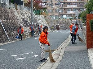 通学路清掃リポート ~待ってくれない雨~