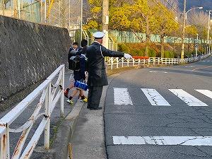 通学路清掃リポート ~挨拶力アップ~