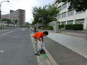 通学路清掃リポート ~野外活動へ~