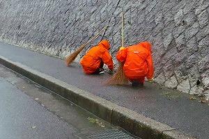 通学路清掃リポート ~例外なし~