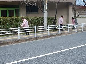 通学路清掃リポート ~賑やかな登校~