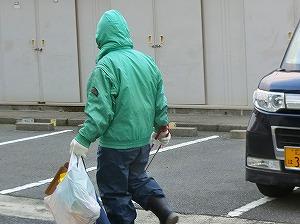 通学路清掃リポート ~礼儀正しい挨拶~