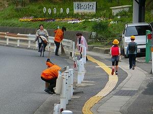 通学路清掃リポート ~春の薄曇り~