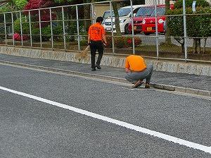 通学路清掃リポート ~雑草を追放する~