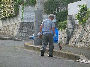 通学路清掃リポート ~大塚さんが応援~