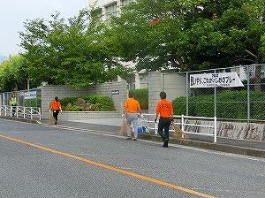 通学路清掃リポート ~礼儀正しい子どもたち~