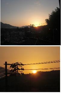 通学路清掃リポート ~やっと真紅の太陽が昇る~