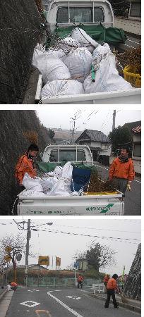 通学路清掃リポート ~ゴミ溜めになっている排水溝~