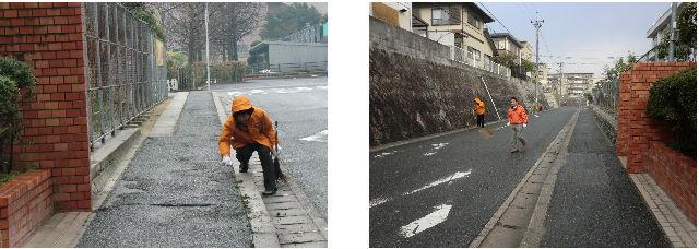 通学路清掃リポート ~静かな朝~