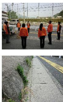 通学路清掃リポート ~子どもは教師を見ている~