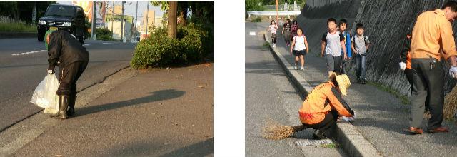 通学路清掃リポート ~暑い時期に入る~