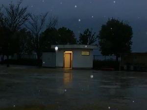 公園清掃リポート ~降りしきる雨の中で~