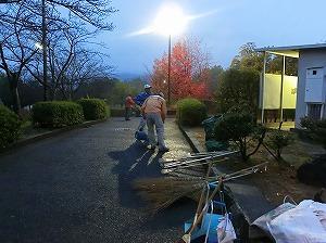 公園清掃リポート ~雨上がり~