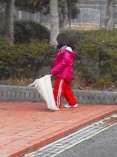 公園清掃リポート ~彩ちゃん頑張る~