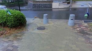 公園清掃リポート ~15号台風~