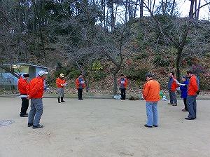 公園清掃リポート ~夢のような暖かさ~