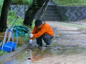 公園清掃リポート ~お盆休み④~