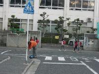 通学路清掃リポート ~竹の子学園塾生とパチリ~