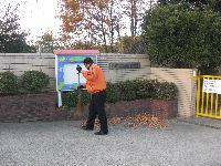 通学路清掃リポート ~7週間分の落ち葉が堆積~