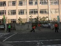 通学路清掃リポート ~怒られる~