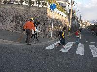 通学路清掃リポート ~寒さも今日までとか~