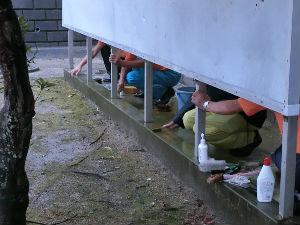 公園清掃リポート ~4週間ぶりの豪雨~