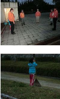 公園清掃リポート ~暖かい大寒~