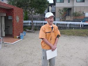 公園清掃リポート ~黄砂にかすむ太陽~