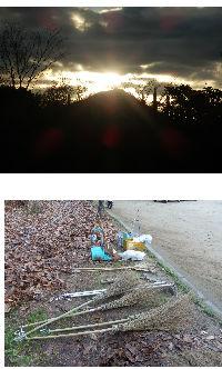 公園清掃リポート ~新春第一回の公園清掃~