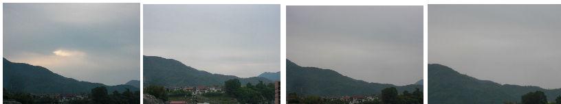 早朝清掃リポート ~時間が見えない曇り空~