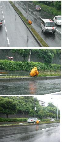 早朝清掃リポート ~ 雨の日の掃除~