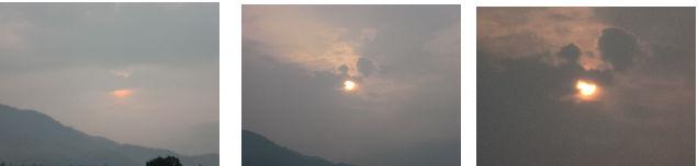 早朝清掃リポート ~太陽&雷&豪雨~