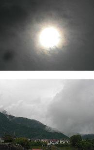早朝清掃リポート ~豪雨がピタリと止む~