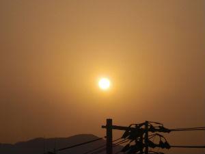 早朝清掃リポート ~オレンジ色の夜明け~