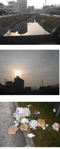 早朝清掃リポート ~春色に染まる~
