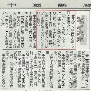 マルコシ杯 新聞